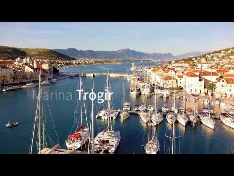 MARINA ACI TROGIR — CROATIA | DRONE FOOTAGE | Pointers Travel