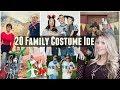20 HALLOWEEN FAMILY COSTUME IDEAS!