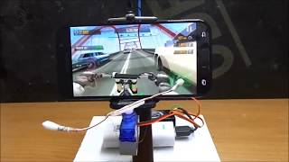 How to make RC Gaming Steering System / Oyunları bir de böyle oynayın :)