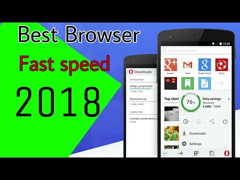 New feature.Fast speed.in 2018 new best web Browser. Android app via Bowers name