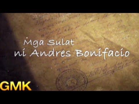 Mga sulat ni Andres Bonifacio
