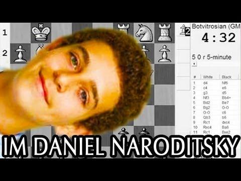 IM Daniel Naroditsky vs. GM Andre Diamant  - SPICE Spring Cup 2011 - Presenter: Daniel Naroditsky
