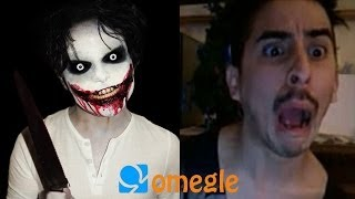 Repeat youtube video Jeff the Killer goes on Omegle!