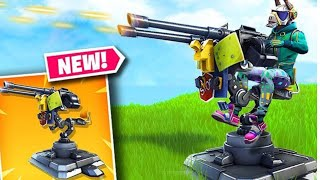 New update and Mounted Turret gun Available Now!!! Fortnite battle royale