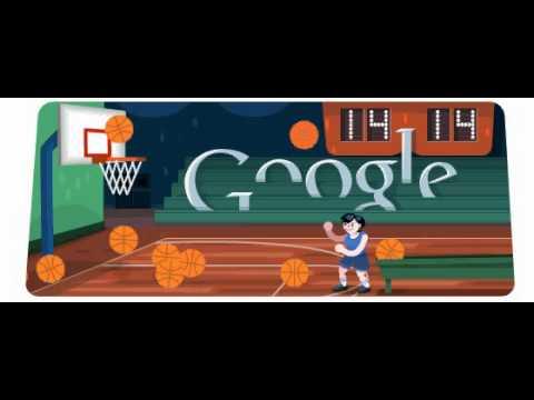 Basketball Google Doodle 2012 Best Score 48 Points