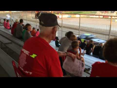 Chris & Colin Heim IMCA Stock Car Thomas County Speedway 6 1 18