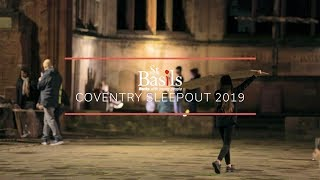 St Basils: Coventry Sleepout 2019