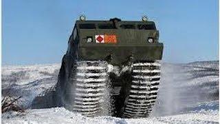 Наши Тесты Камуфляж Снегоболотоходный Двухзвенный Гусеничный Тягач ДТ 30П
