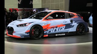HYUNDAI RM19 Race Car REVEAL in Los Angeles