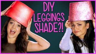 DIY Leggings Lamp Shades?! | Niki and Gabi DIY or DI-Don't