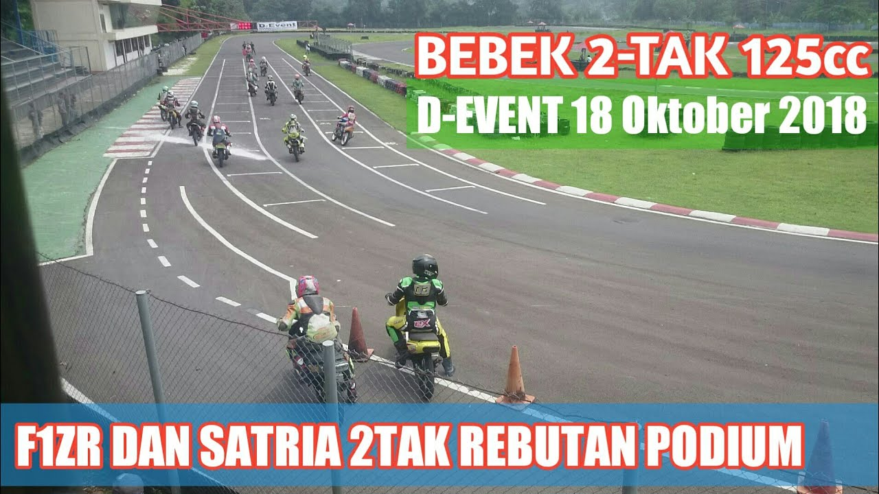 ROAD RACE BEBEK 2-TAK 125cc D-EVENT 18 OKTOBER 2020