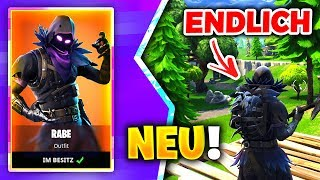 *NEW* RABEN SKIN IS DA + FIRST GAMEPLAY 😱 STREAMEN to SHOP | Fortnite Battle Royale LIVE