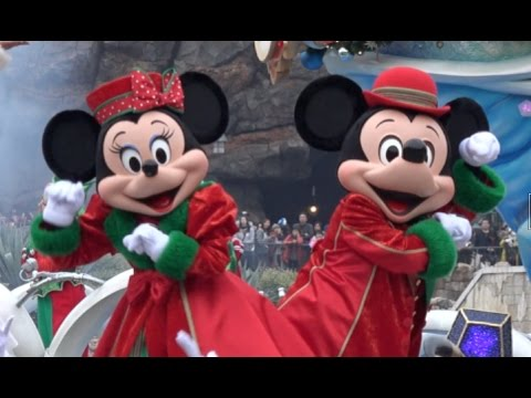 ºoº [初日] パーフェクト・クリスマス 2016 ミッキー広場 ディズニー シー TDS Perfect Christmas