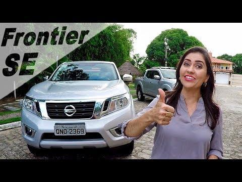 Nissan Frontier SE 2018   Nova Versão de Entrada em Detalhes