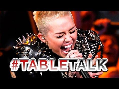Miley Cyrus Karaoke Fail on #TableTalk!