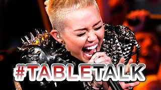 Miley Cyrus Karaoke Fail on #TableTalk!