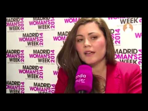 Sandra Valdivia en Madrid Womans Week