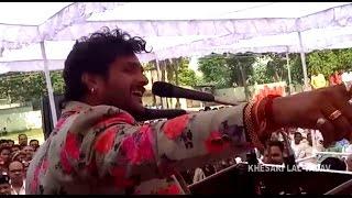 Khesari Lal Yadav On the Launch OF Movie BABRI MASJID at ETAWAH