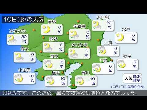 埼玉 天気 10 日間