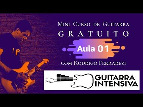 Mini Curso GRÁTIS Guitarra 01 - Cifras e Notas Naturais (Guitarra Intensiva)