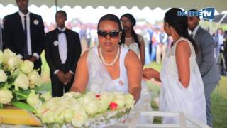 vuclip Umuhango wo gushyingura Senateri Jean de Dieu Mucyo mu cyubahiro i Rusororo (07/10/2016)