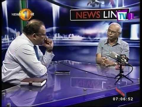 NEWSLINE TV1 Sri Lanka needs an economic game changer Dr W A Wijewardena with Faraz Shauketaly