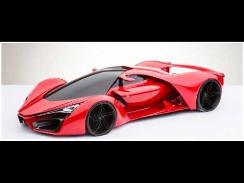 次期モデルのフェラーリF80コンセプト公開 最高速度498.8km/h - YouTube