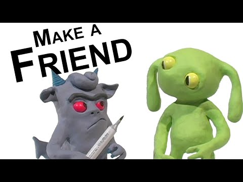 Clay Animation Short: Make a Friend - YouTube