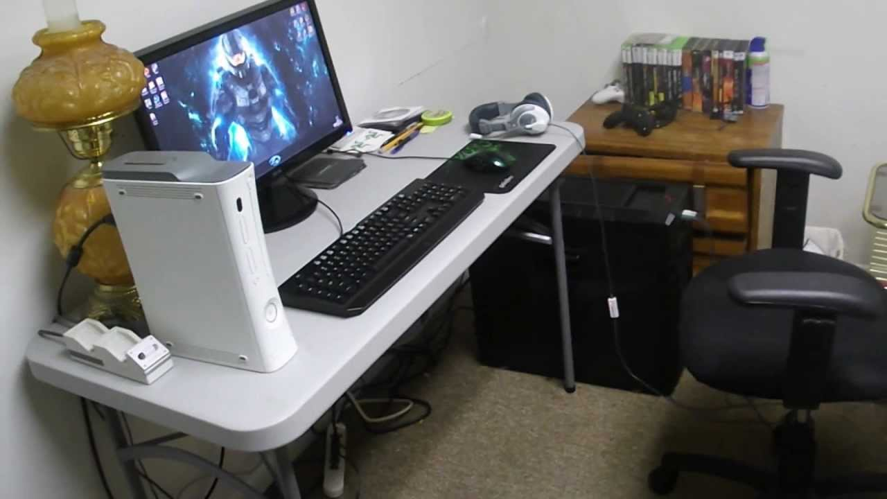 Sc0ttyz23 Vlogs || Gaming Setup 2012 2013 (so Far...) (1080p)   YouTube