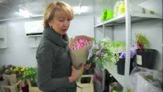 как выбрать цветы и сделать букет?