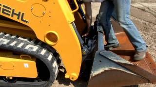 Gehl RT Series Track Loaders Attachment System