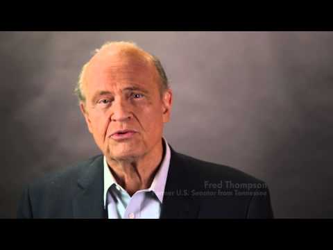 Fred Thompson Supports Lamar Alexander in Endorsement Ad