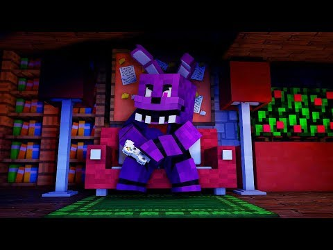 Minecraft FNAF: Bonnie fails at games (Minecraft Roleplay)