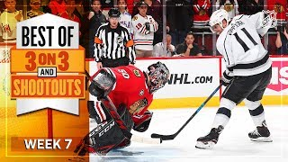 Best 3-on-3 and Shootout Moments from Week 7