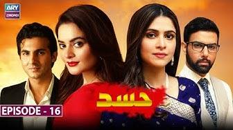 Hasad Episode 16 - Minal Khan & Arij Fatima - ARY Zindagi Drama