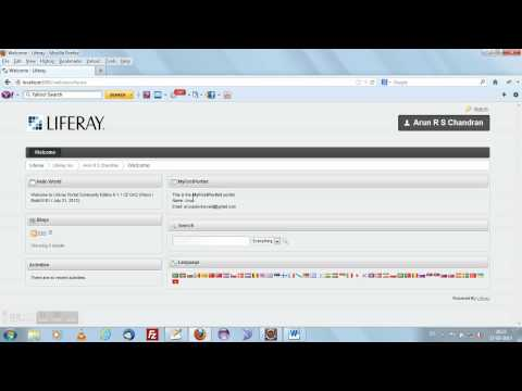 Liferay 6.1 Tutorial 4 - Creating your first Liferay Portlet