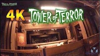 東京ディズニーシー人気アトラクション 「タワー・オブ・テラー」 4Kで...