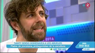 "Santi Senso en el programa  ""A ESTA HORA"" de Canal Extremadura."