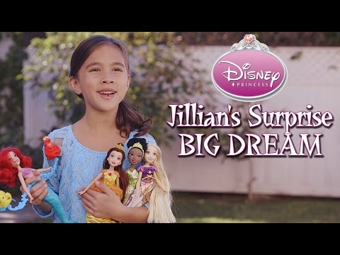 Disney Princess - Jillian's Surprise Big Dream