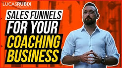 Sales Funnel For Coaches 💵 / Coaching Funnel (Lucas Rubix) 💵