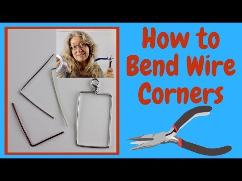 How to Bend Wire for Jewelry Making DIY Tutorial