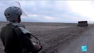 Conflit au Haut-Karabakh : Agdam, ville fantôme reprise par l'Azerbaïdjan