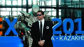 Шоу Робота Титан Впервые в Казахстане / Сфера Нур-Алем ЭКСПО.