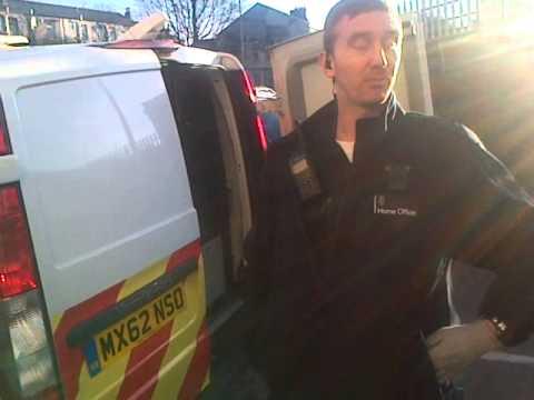Stazi Immigration Team Dawn Snatch On Sovereign Human Being - Rochdale 11/03/15