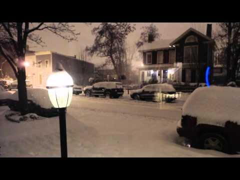 Blizzard 2016 Time Lapse (Alexandria, VA)