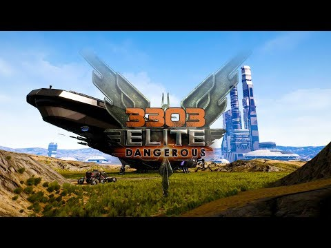 3303 Elite Dangerous - Amazing Fan Atmospheric Concepts, 24hr Livestream, Alien Star Map