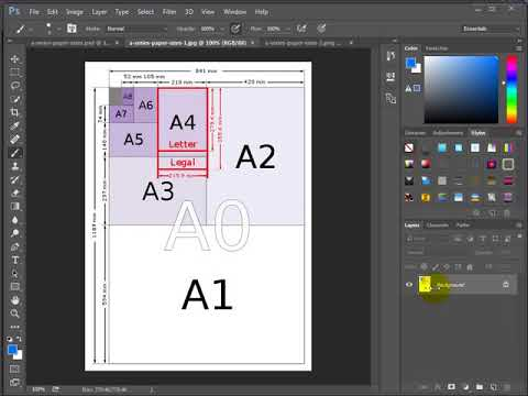 InDesign - A1 to A3 Presentation - Using Pages and Masters