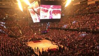 Cleveland Cavaliers 2017 finals game 3 pre-game intro