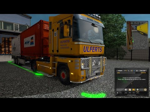 Euro Truck Simulator 2 Episode 36 Medical equipment to Genève (CH)