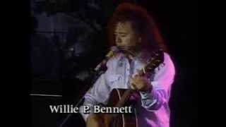 Rare performance by Willie P. Bennett at Mariposa Festival in 1993 (Documentary film excerpt)